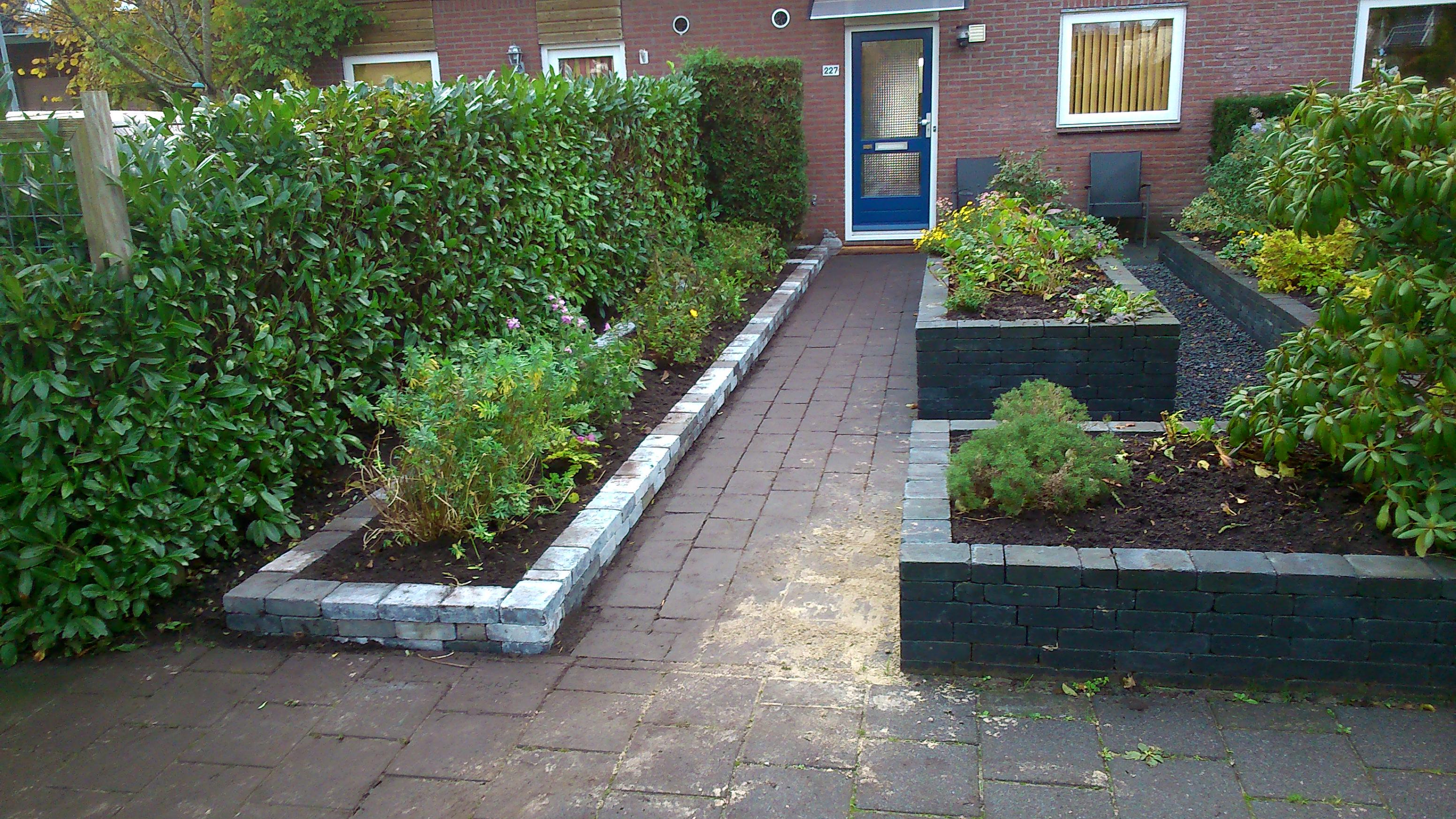 Border maken tuin